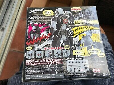 AMAZING YAMAGUCHI Revoltech Marvel Deadpool X-Force Collectors Action Figure New
