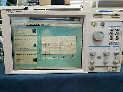 Hpagilent16702b Logic Analysis System 16534a16550ax4