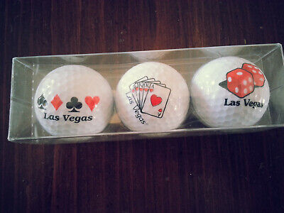 Las Vegas Themes (Las Vegas themed Nike golf balls -)