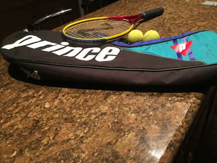 Tennis Racket with bag as new