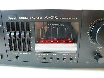 Sansui AU-G77X Stereo Integrated Amplifier