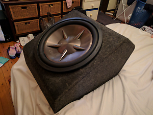 15 inch clarion sub Ryde Ryde Area Preview