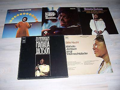 Gute Mahalia JACKSON - Sammlung  mit 10 verschiedenen, schönen LPs ! Mit Liste !