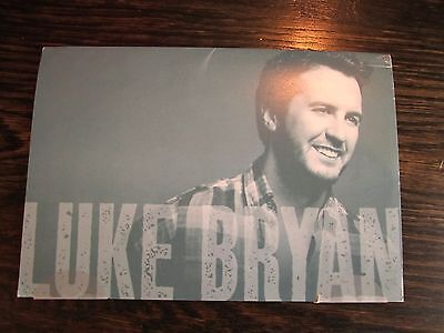 """Luke Bryan Industry Only Postcard Set Mailing """"For Your CMA Consideration"""""""