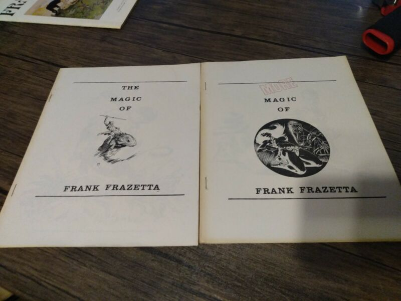THE MAGIC OF AND the MORE MAGIC of FRANK FRAZETTA 1970
