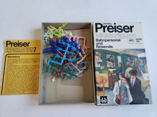 Preiser HO 120 Figures w/Accessories #325