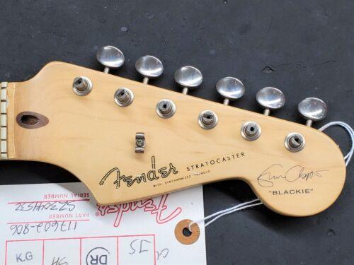 2003 Fender USA Eric Clapton Blackie Strat Maple Guitar NECK w/ Tuners Relic??