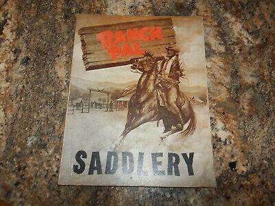 Vintage Ranch Pal Saddlery Catalog Southern Leather Co Breyer Horses