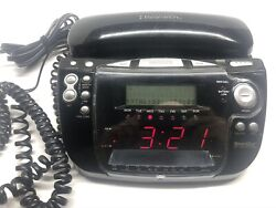 Emerson Research CKT9087 Smart Set Dual Alarm Clock Radio Telephone Caller ID