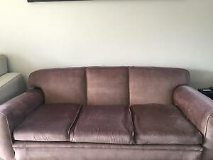 3 seater sofa + 2 single armchairs The Hill Newcastle Area Preview