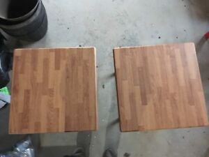 Patio coffee and end tables