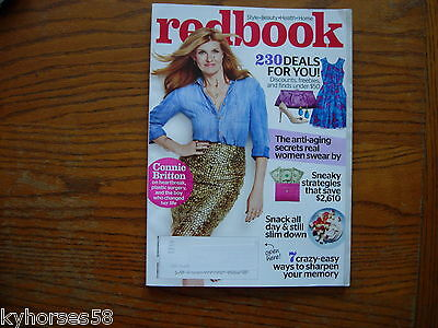 Redbook Magazine Cover Connie Britton October 2014