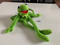 "New Disney 18/"" Kermit The Frog Soft Plush Backpack Bag"