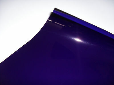 181 CONGO BLUE LIGHTING FILTER GEL STAGE THEATRE TV DJ DISCO 24cm X 24cm PAR 64
