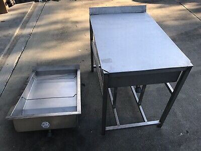 Donut Glazer Glazing Table Sold By Belshaw Unbranded 2 Lids Included