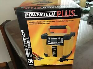 15A POWERTECH PLUS BATTERY CHARGER