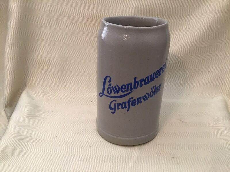 German Mug Lowenbrauerei Grafenwohr 1L