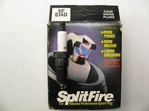 (4) Splitfire SF514D Ignition Spark Plugs