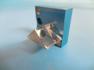 Mounted Optical Glass Right Angle Triangular Prism 24mm X 15mm X 15mm