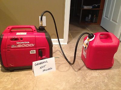 Extended Fuel Kit W 5 Gallon Tank For Honda Generator