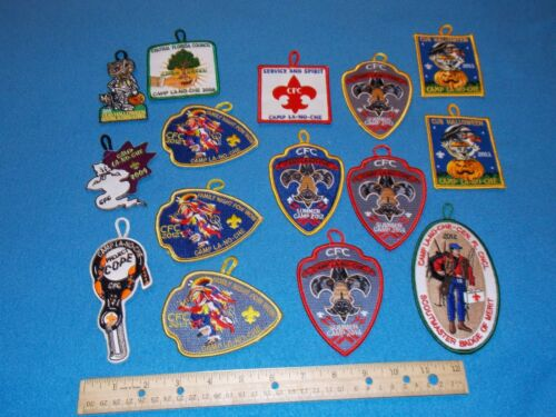Boy Scout Camp La-No-Che Central Florida Council Patches