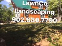 LawnCo landscaping services