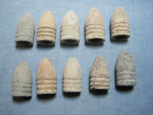 10 Dug Civil War Dropped .58 Caliber Bullets from Georgia