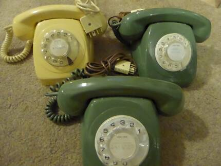 ***VINTAGE ROTARY DIAL TELEPHONES - 4 available***