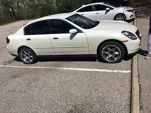PRICED REDUCED! 2004 INFINITI G35X AWD 2500$ OBO