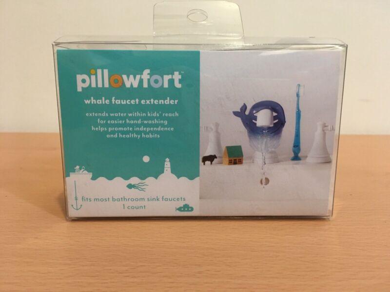 Pillowfort Whale Water Extender Faucet Child Fun Hand Washing New