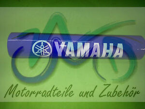 Yamaha XT125 XT250 XT350 XT600 XT Lenkerpolster Lenkerschutz Lenker Polster blau