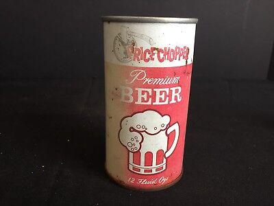 Vintage Price Chopper Premium Beer Generic Store Brand Pull Tab Beer Can