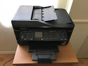 Epson Workforce 630 Printer with 4 full ink cartridges Brentwood Melville Area Preview