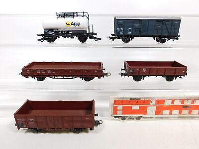 CC247-1# 5x Roco H0/DC Güterwagen DB/SNCF: Agip etc, 2. Wahl/gut online kaufen
