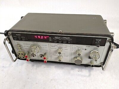 Hp 3551a Multi-function Receive Noise Frequency Send Table Transmission Test Set