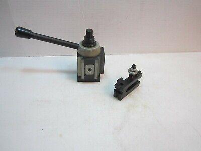 Quick Change Piston Lathe Tool Post Cxa 300 Series 310 Holder 13-18 2 Pc Set