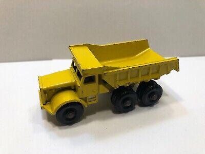 Vintage Matchbox Lesney No.6 Euclid Dump Truck (Yellow) *Clean*
