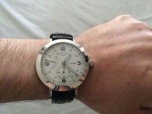 Rare Eberhard & Co 8 days manual winding watch