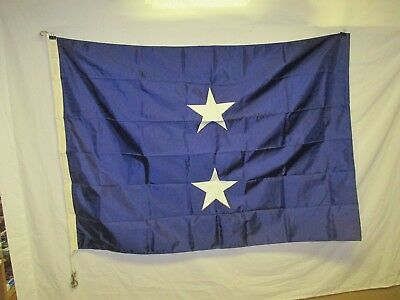 flag1036 US Navy 2 Star Rear Admiral Chicago Flag Co W11E