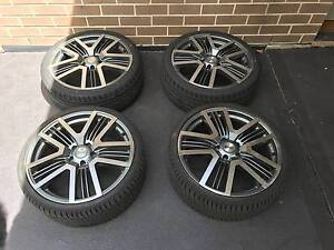 4 x Vendetta Futex 20 Inch Wheels WITH TYRES Flinders Park Charles Sturt Area Preview