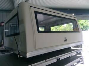 ALLOY EXTRA CAB TRAY WITH CANOPY- 2150LX1840WX950H