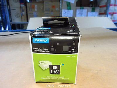 Genuine Original DYMO LABELS 99012 36MM x 89MM 2x 260 - New Neu Nieuw IN BOX