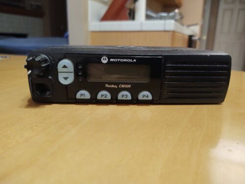 Motorola CM300 VHF 32ch 45w Mobile Radio with Accessories