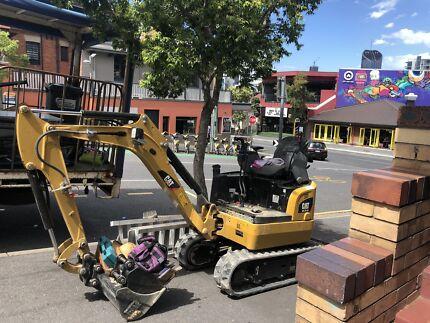$70 Mini excavator wet hire