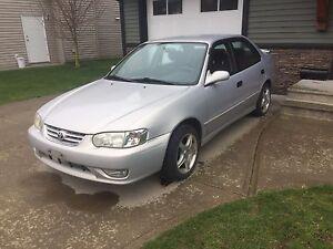 2001 Toyota Corolla S