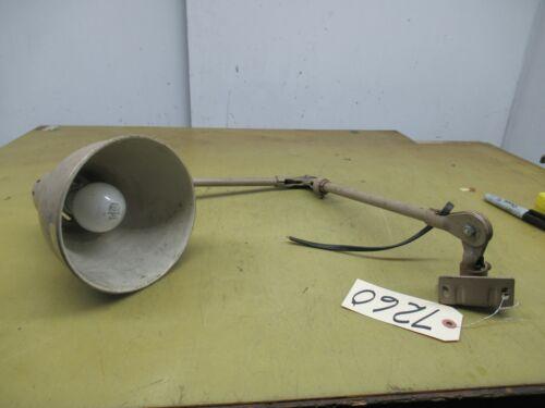 Vintage All Steel Machine Work Light (CTAM #7260)