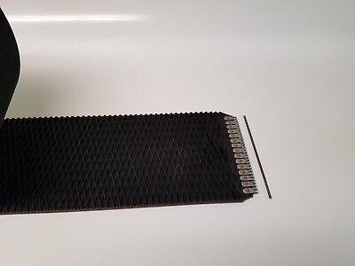 John Deere 458 Silage Round Baler Belts Set 3 Ply Diamond Top Walligator Lace