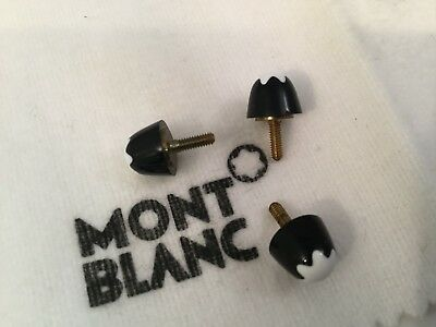 Montblanc Classique Snow Cap Parts Repair Fountain Ballpoint Black Gold 164