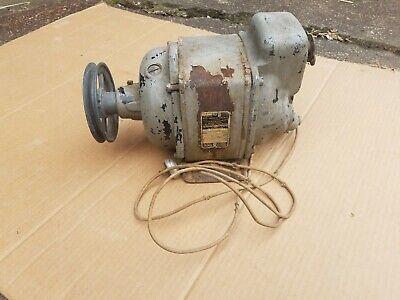 Leland Electric Motor Single Phase 110230 Volt 34 Hp 1725 Rpm