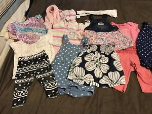Girls 6-9 Months brand name Clothing Lot!